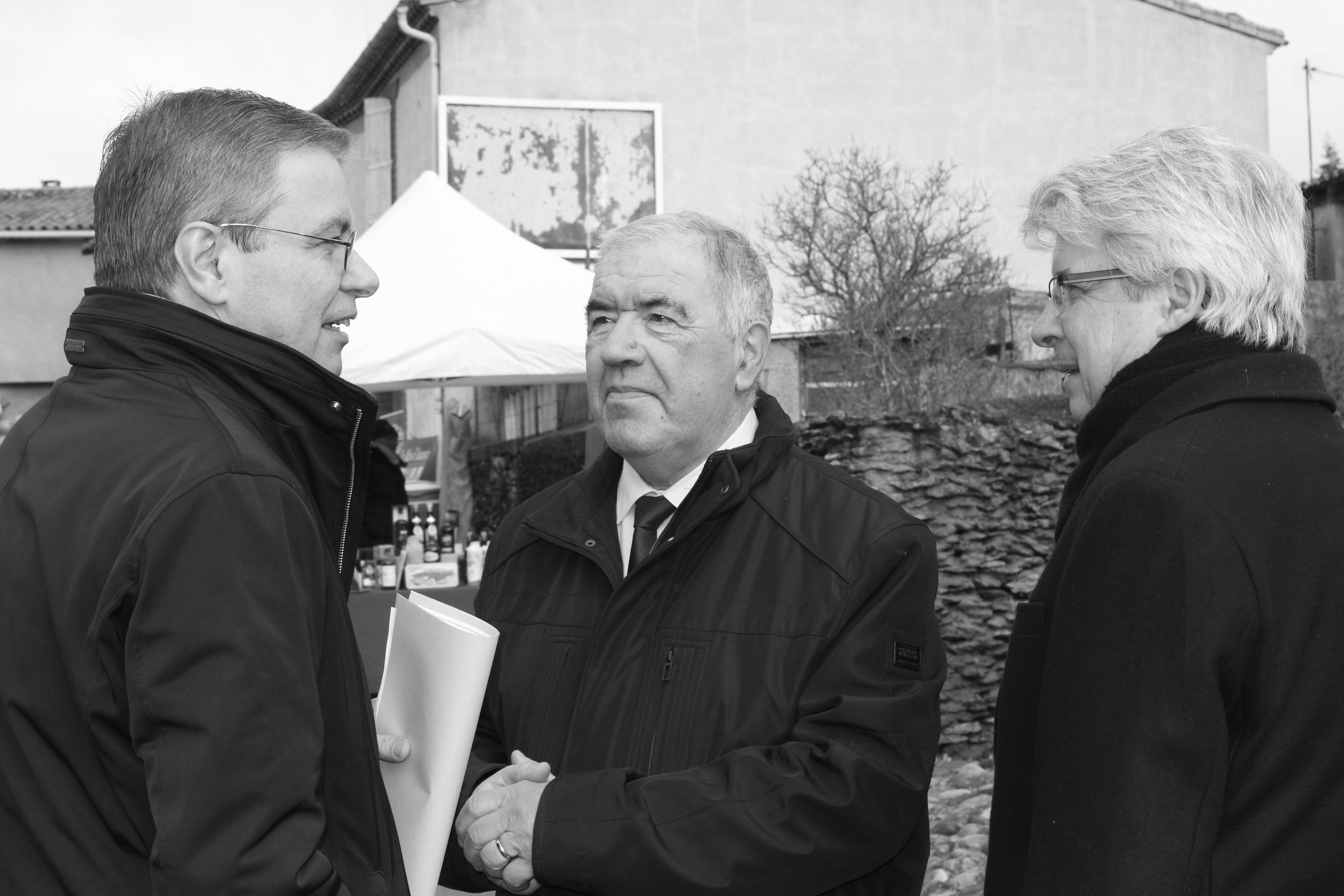 Décès de Jacques CARRIQUI, maire de Moussoulens