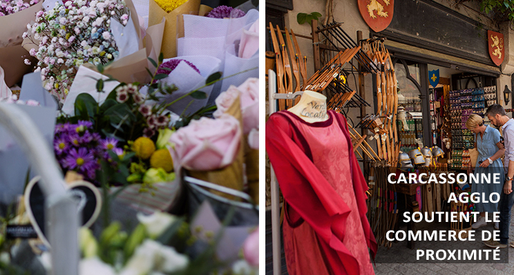 Commerce de proximité :  les élus de Carcassonne Agglo s'engagent